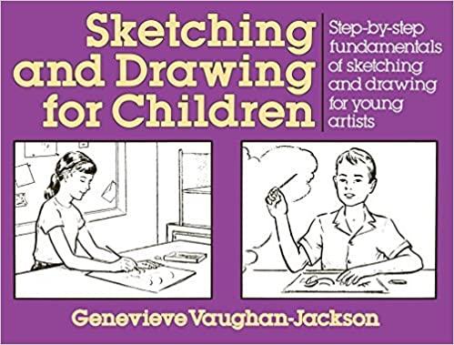 Book Sketching and Drawing for Children: Step-by-Step Fundamentals of Sketching and Drawing for Young Artists (Perigee) by G. Vaughan-Jackson (1990-06-12)