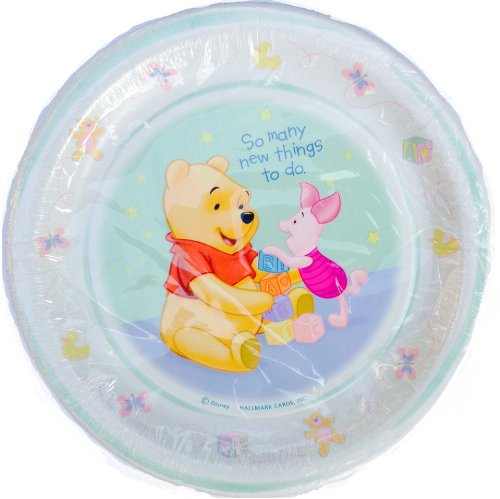 Winnie The Pooh 'New Beginnings' Small Paper Plates