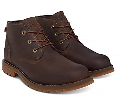 a985dc875ec Timberland A1OJD Larchmont Chukka Boot (Dark Brown): Amazon.co.uk ...