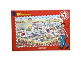 Airport - Where's Wally? 100 Piece Jigsaw Puzzle 7000 by Paul Lamond Games