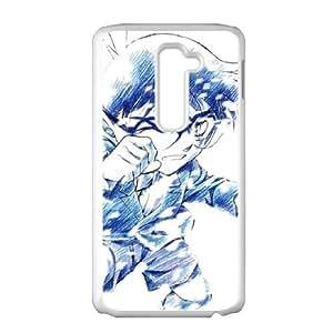 Detective Conan LG G2 Cell Phone Case White Exquisite designs Phone Case KM5825H4