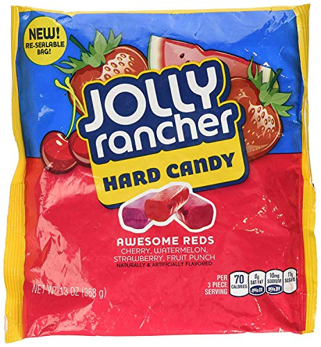 Jolly Rancher Awesome Reds Hard Candy, 13-Ounce (Pack Of -