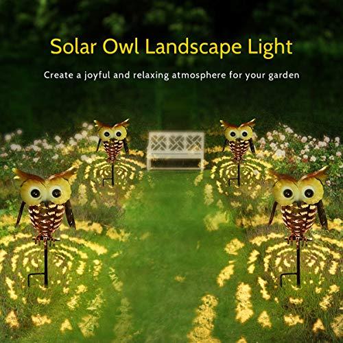 LED OWL Garden Decoration Outdoor Solar Garden Light Tomshine Solar Lights