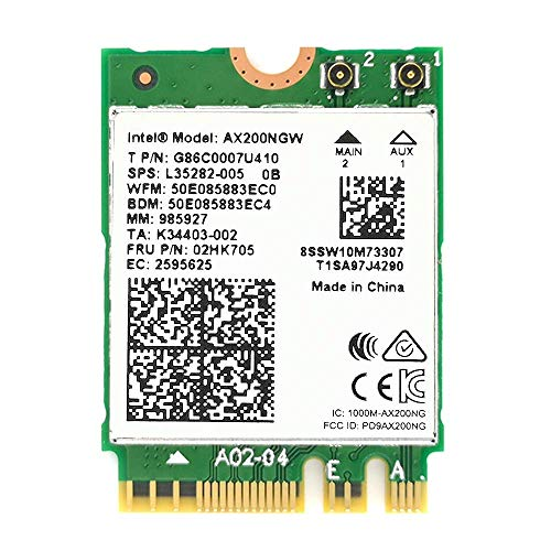 Industrial Control Board etc. Diyeeni WiFi Card Dual Band 2.4G//5Ghz Network Card 433Mbps Bluetooth 4.2 WiFi Mini PCI-E Wireless Card,Compatible with Desktop Laptop