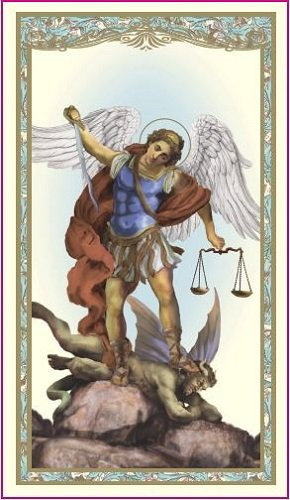 Saint Michael the Archangel Holy Card (10 pack)