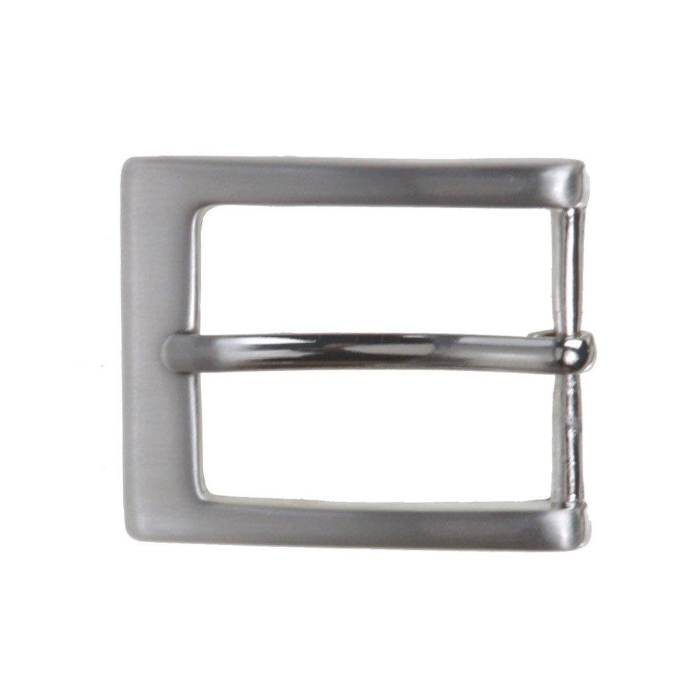 Rectangular Belt Buckle 30 mm beltiscool Mens 1 1//8