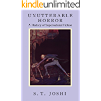 Unutterable Horror: A History of Supernatural Fiction book cover