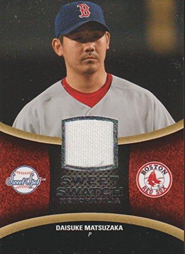 2008 Sweet Spot Daisuke Matsuzaka Red Sox Game Used Jersey Baseball Card #SS-DM