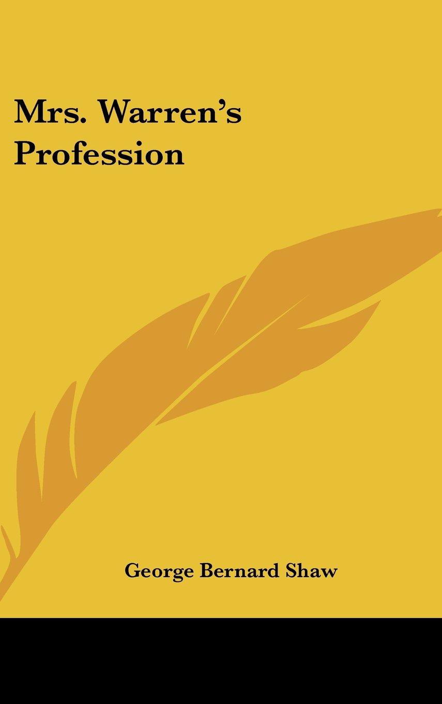 Mrs. Warren's Profession pdf