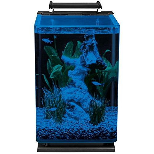 Marineland ml90609 portrait aquarium kit 5 gallon for 10 gallon fish tank kit