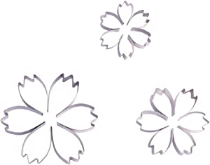 2 Inch Small Cosmos Flower Cookie Cutter Set – 3 Piece –Stainless steel – Sugarcraft Cutter