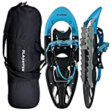 FLASHTEK Snowshoes for Men and Women High End Plastic Hiking/Terrain Snowshoes with Heel Lift + Free Carry Bag 25