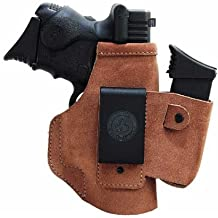 Galco Walkabout Inside The Pant Holster for 1911 3-Inch Colt, Kimber, Para, Springfield (Natural, Right-hand)