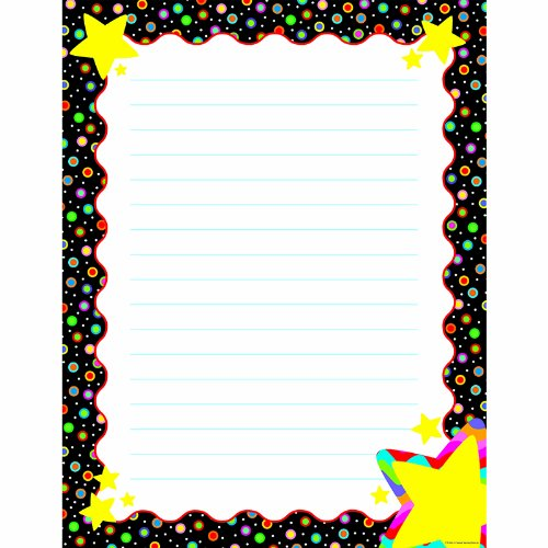 Sm Stars Chart (Creative Teaching Press Poster Chart, Dots on Black with Stars (4341))