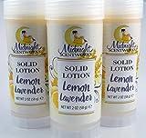 Lemon Lavender Solid Lotion - Vegan