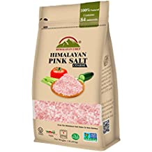 Himalayan Chef Pink Himalayan salt, 1 lbs Pouch Coarse Grains. Incredible Taste, 100% Natural Salt - Rich in Nutrients and Minerals to improve your Health, Add to your Cart Today
