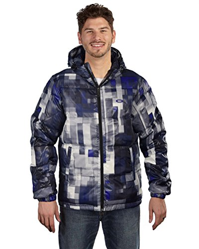 Oakley Men's AOP Down Puffer - Sale Oakley Jacket