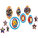 Toy Story Game Time Danglers (Set Of 8) by KidsPartyWorld.com