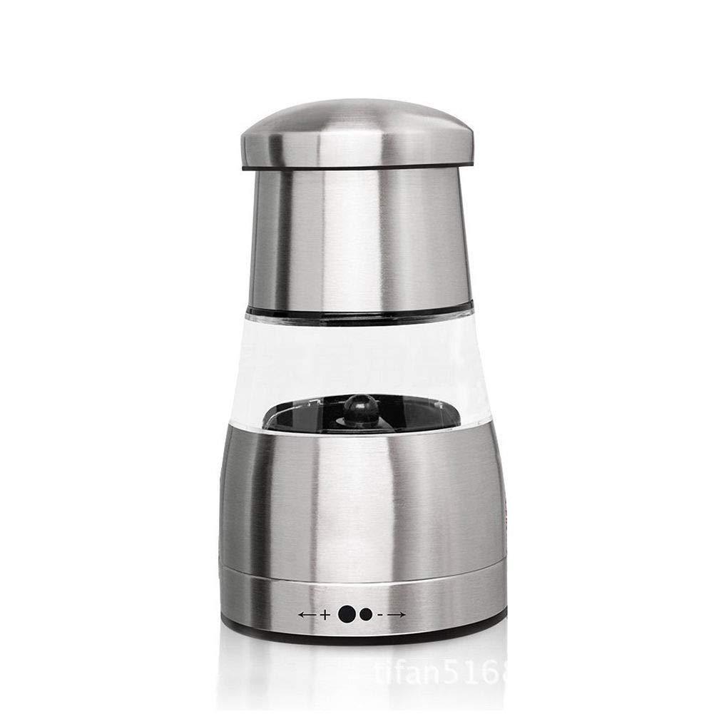 Pepper Salt Shaker,Salt Grinders and Pepper Mill Shaker Mills Set,Mini Manual Kitchen Tools Pepper and Salt Grinder,Manual Salt Pepper Mill with Adjustable Coarseness and Stainless Steel Housing