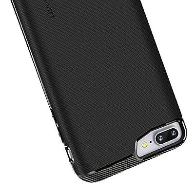 iPhone 7 Plus Case, LUVVITT [Sleek Armor] Slim Shock Absorbing Flexible Back Cover TPU Rubber Case for Apple iPhone 7 Plus