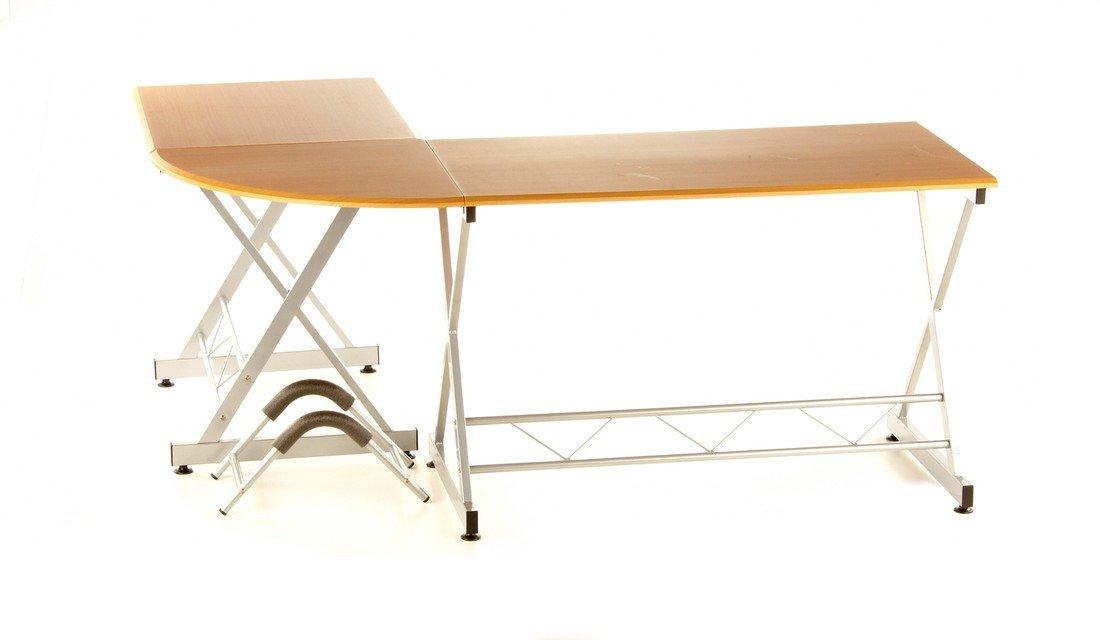 Graphite//Argent hjh Office Easy Go Bureau dangle avec support pour clavier et unit/é centrale
