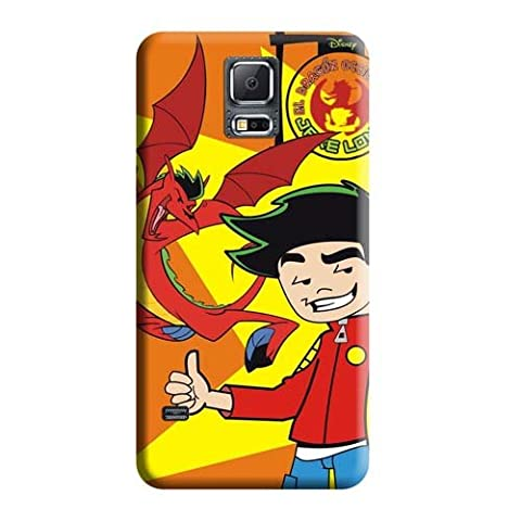 High Quality Phone Cases American Dragon Jake Long Sictures Case Samsung Galaxy Note 4 (Jake Long Dvd)