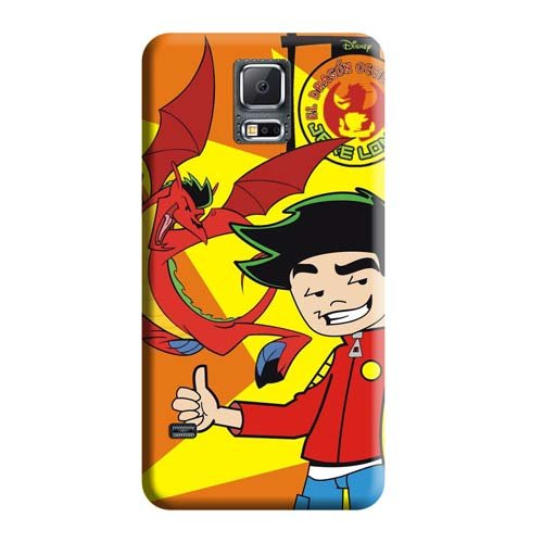 BackCovers Snap On Cases Impact Perfect American Dragon Jake Long Phone Carrying Skins Samsung Galaxy Note 4