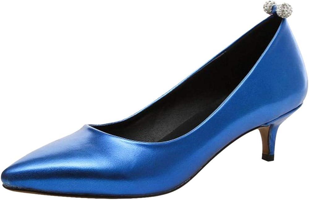 CularAcci Femmes Talons Moyens Escarpins Chaussures