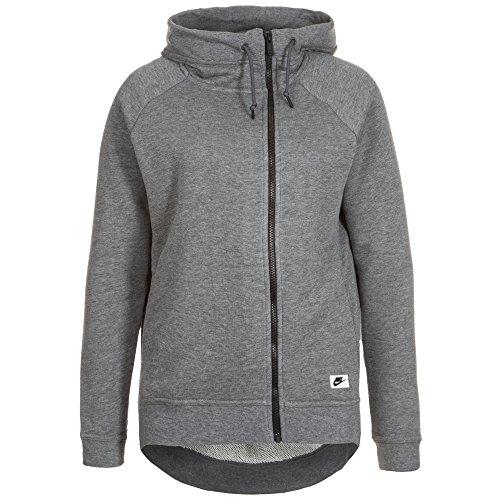 Nike Modern Fleece Cape Asymmetrical Zip Hooded Jacket