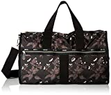 LeSportsac Women's Essential Large Weekender, Botanical Black