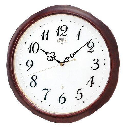 セイコー クロック 掛時計 電波時計 SEIKO EMBLEM HS554B B01BGMUSOS