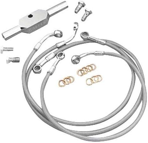for Non ABS Conversion Galfer 15-18 KTM RC390 Rear Brake Line Kit