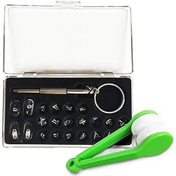 Amazon.com: Eye glass Repair Cleaner Kit Nose Pads Screws