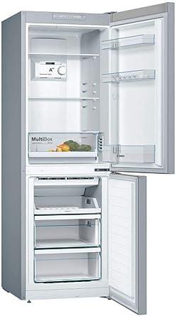 Bosch KGN33NL3A nevera y congelador Independiente Acero inoxidable ...