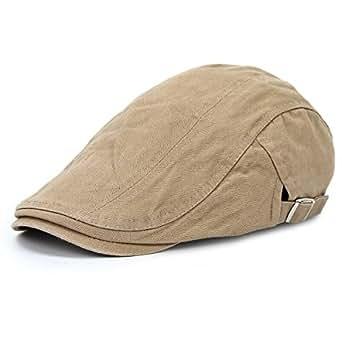 AIEOE Sombrero de Boinas Beret Gorro con Visera Protección del Sol Transpirable Bailey Cap para Hombre Mujer Verano e8UPu