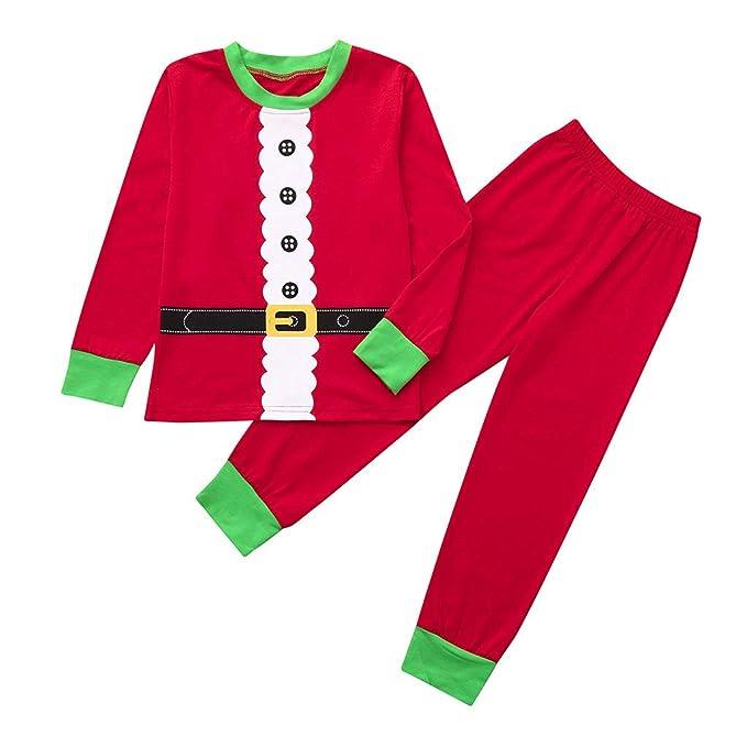 Amazon.com: Moonker - Conjunto de pijama de Navidad para ...