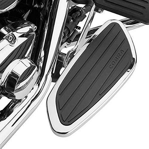 Cobra Swept Front Floorboards for 2002-2008 Honda VTX1800C/F