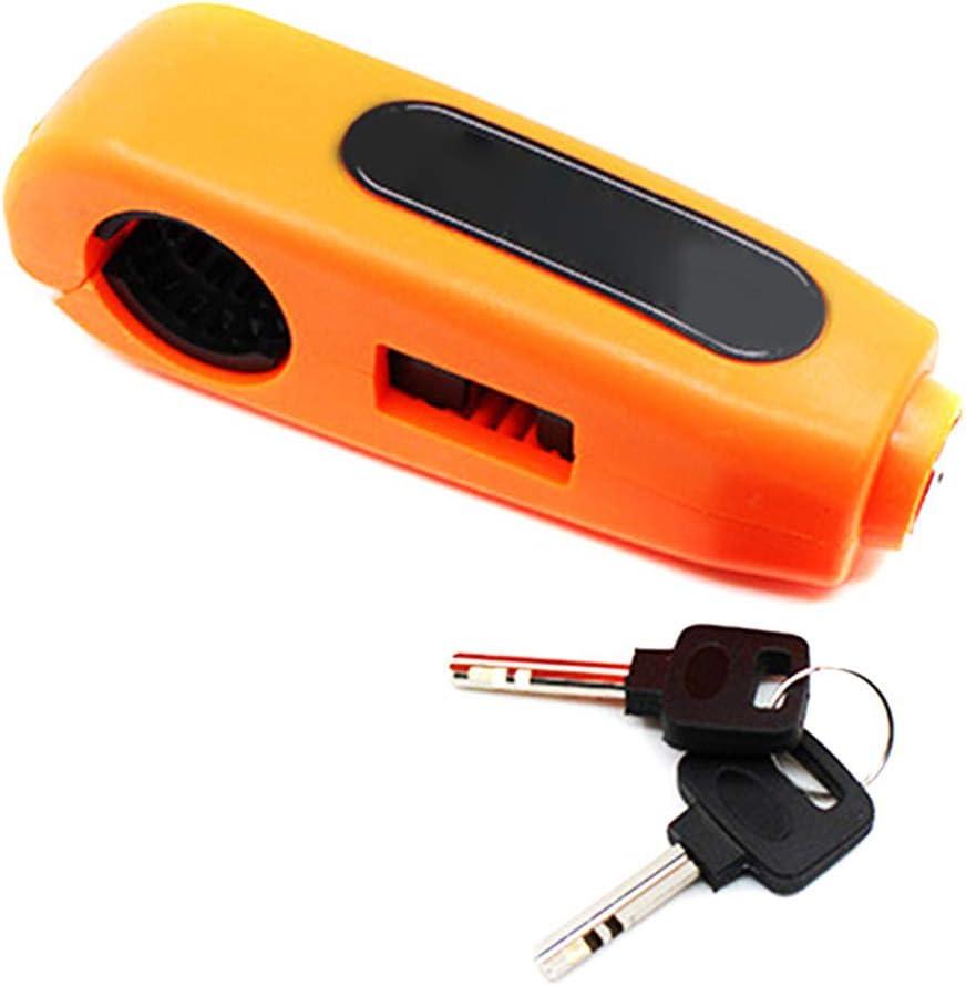 Sendgo Motorrad Handlebar Grip Brake Lock Universal Colourful Anti Theft Lock