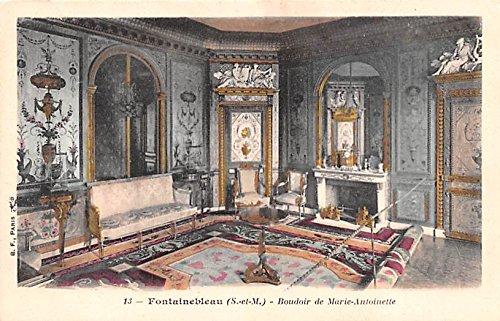 Boudoir de Marie Antoinette Fontainebleau France (Boudoir Card)