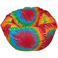 Ahh! Products Tie Dye Rainbow Kid Bean Bag Chair