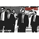 Reservoir Dogs - Movie Poster / Print (Let's Go To Work - The Gang Walking) (Size: 91.5cm x 61cm) (Poster & Poster Strip Set)