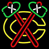 Urby™ 20''x16'' Sports Teams C-BLACKHAWKS Beer Bar Pub Neon Light Neon Sign -Excellent & Unique Handicraft! U34