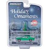 2016 Greenlight Holiday Ornament - 1970 Chevrolet Camaro Z28