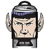 ICUP Star Trek Spock Diecut Ears Huggie/Koozie with Card, Clear