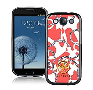 Fahionable Custom Designed Samsung Galaxy S3 I9300 Cover Case With Tory Burch 18 Black Phone Case
