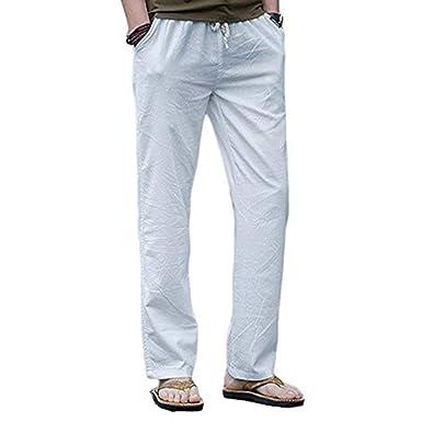 Pantalones De Chándal De Verano Pantalones De Verano Suelta De ...