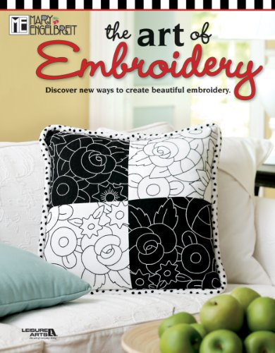 Leisure Arts Mary Engelbreit The Art Of Embroidery Book ()