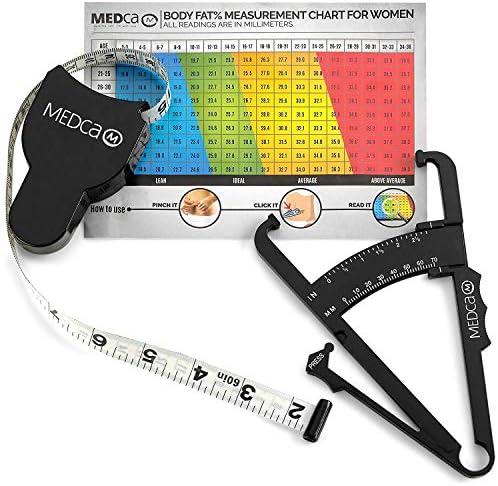 Body Fat Caliper Measuring Tape