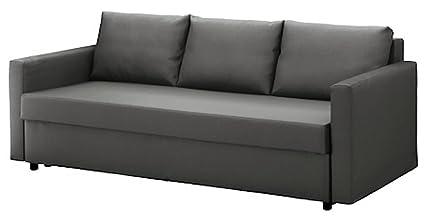 Terrific Hometown Market The Cotton Dark Gray Friheten Sleeper Sofa Interior Design Ideas Oxytryabchikinfo