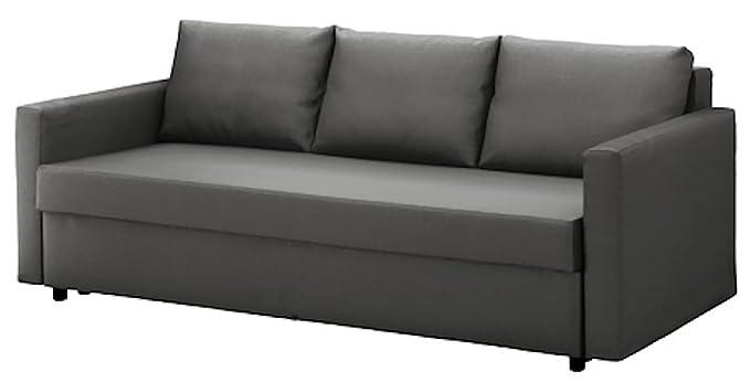 Amazon.com: La algodón gris oscuro de friheten Sleeper sofá ...